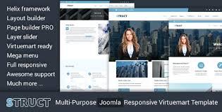 joomla blank template struct multi purpose joomla responsive virtuemart template by