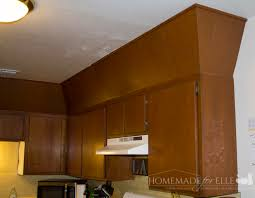 Kitchen Cabinets Without Hardware by How To Paint Cabinets Without Sanding Homemade For Elle