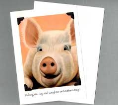 crafted s day card pig s day card big