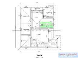 Floor Plans With Cost To Build Estimates by Kerala Home Design First Floor Plankerala House Plans With