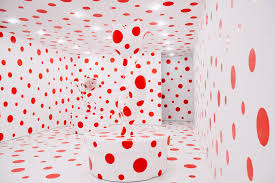 design pictures yayoi kusama and the amazing polka dotted selfie made journey to