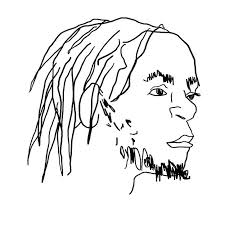 can you identify the rapper from a really shitty drawing of them