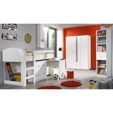 jugendzimmer g nstig kaufen jugendzimmer set lenny 3tlg weiß mit hochbett wimex möbel