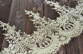 wide lace ribbon lace trim fabric appliques chiffon by lacebeauty on etsy l knits