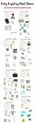 baby gift registry list 25 best baby registry checklist ideas on baby list