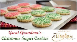 jeannie u0027s great grandma u0027s christmas sugar cookies the coers family