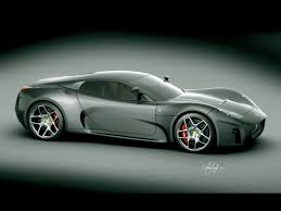 ferrari concept ferrari concept 2008 design by luca serafini green front and