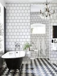 bathroom tile ideas black and white 31 retro black white bathroom floor tile ideas and pictures