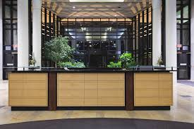 Commercial Reception Desk Chambers Architecture