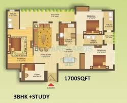 3 bhk 1700 sq ft apartment for sale in gardenia gateway at rs 3 bhk 1700 sq ft apartment floor plan