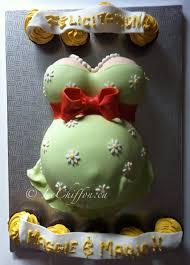 unisex baby shower pregnant belly cake my cakes pinterest