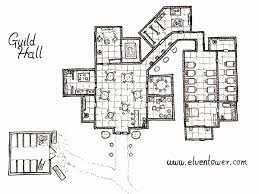 Fantasy Floor Plans Guild Hall U2013 Map Rpg Maps Pinterest Hall Rpg And Fantasy Map