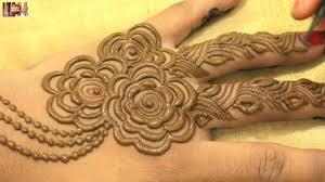 beautiful pattern stylist mehndi hinna designs for upper hands beautiful gulf khafif