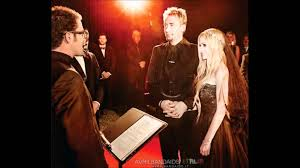 avril lavigne black wedding dress avril and chad s wedding in 2013