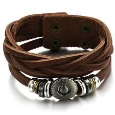leather hand bracelet images Male bracelet www thehoffmans info jpg