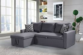 Sectional With Sofa Bed Zara Reversible Sectional Sofa 3 In 1 Sofa Bed Storage