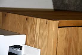 Schreibtisch Massiv Schreibtisch Kombination Klein Malmoe Kiefer Massiv Gebeizt Gewachst