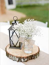 Photo Tree Centerpiece by Amazon Com Rustic Wedding Centerpiece Round Tree Bark Slice