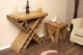 wine rack side table 50 off oak sideboard with wine rack oslo rustic oak