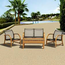 Agio Manhattan by Amazonia Patio Conversation Sets Outdoor Lounge Furniture