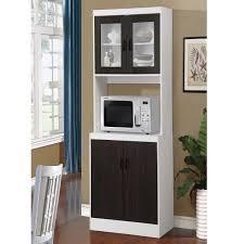 black kitchen pantry cupboard black wooden microwave kitchen storage cabinet cupboard