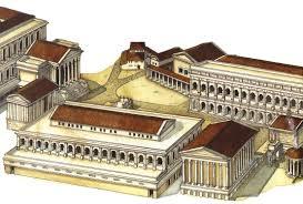 Fishbourne Roman Palace Floor Plan by