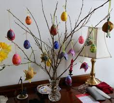 german easter decorations how to decorate child friendly plastic eggs for your easter tree
