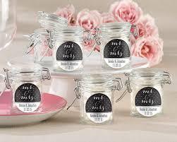 favor jars personalized mr mrs glass favor jars set of 12 my wedding