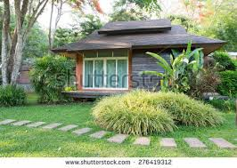 Small House Backyard Small House Garden Stock Images Royalty Free Images U0026 Vectors