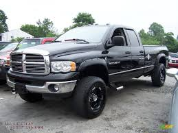 2004 dodge ram 2500 slt quad cab 4x4 in black 258719 all