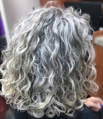 hairstyles for thick grey hair thick wavy curly natural grey hair i love the colour and