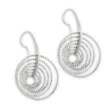 silver drop earrings sterling silver drop earrings erwin pearl