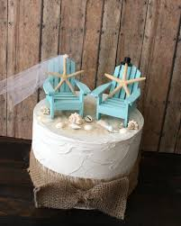chair cake topper something blue wedding cake topper miniature adirondack