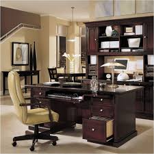 Large Home Office Desk Office Interior Long Brown Wooden Corner Desk With Drawers