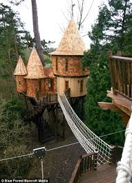 treehouse homes for sale now that s a real millionaire play pad the luxury tree houses that