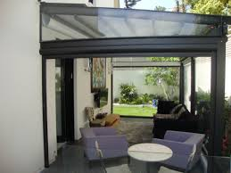 amusing retractable wall screens for patios from clear flexible