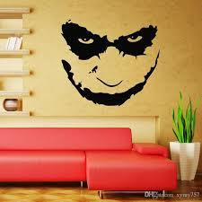 Free Shipping Home Decor Joker Heath Ledger Wall Decal Art Iconic Vinyl Wall Decals