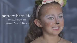 easy halloween makeup tutorial deer tutu costume for pottery