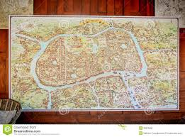 Ancient Map Ancient Map Stock Photo Image 35878690