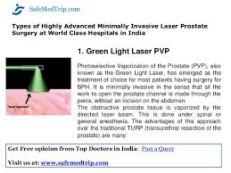 green light laser prostate surgery cost laser prostate surgery turp