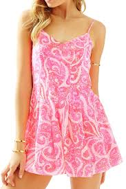 Lilly Pulitzer Baby Clothes Lilly Pulitzer Kyla Slip Dress Romper From Sandestin Golf And