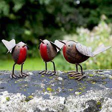 robin metal garden ornaments ebay