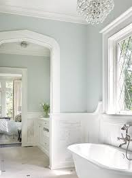 painting ideas for bathroom walls benjamin woodlawn blue paint colors