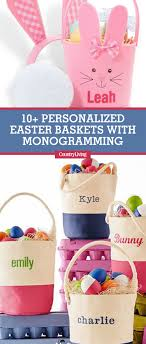 personalized basket 12 personalized easter baskets monogrammed easter basket ideas