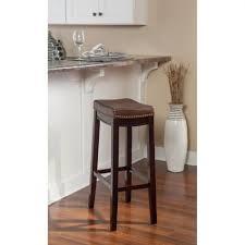 linon home decor bar stools linon home decor claridge 30 in black cushioned bar stool in best