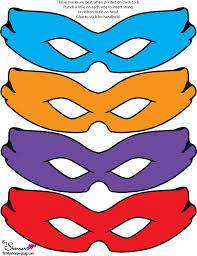 masks clipart teenage mutant ninja turtle pencil color