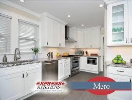 aspen white kitchen cabinets introducing mero to express kitchens star brand of kitchen