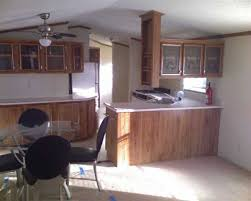manufactured homes kitchen cabinets kitchen w glass panel cabinets 1991 commodore mobile manufactured