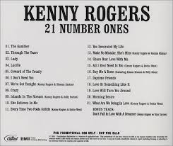 kenny rogers the edition 21 number ones us promo cd r