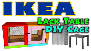how to diy hamster cage ikea lack table cage designed by